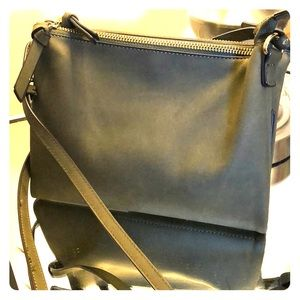 Hunter green crossbody